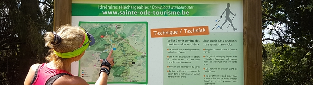Nordic Walking Sainte-Ode