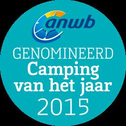Camping Tonny Genomineerd voor Camping van het Jaar 2015 in categorie 2: De mooiste charme campings